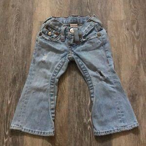 Light wash True religion Joey jeans